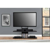 Ameriwood Home Galaxy TV Stand with Mount for TVs up to 170cm Wide, Black