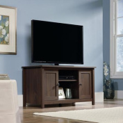 Sauder County Line TV Stand for TVs up to 120cm , Rum Walnut