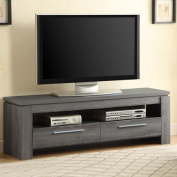 Coaster Weathered Grey TV Console for TVs up to 120cm