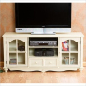 Holly & Martin Roosevelt Large TV Console in Antique White