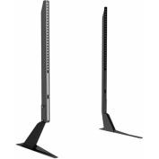 Atlantic Furniture Tabletop TV Stand, Black