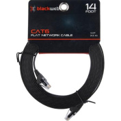 Blackweb CAT6 High-Performance Snagless Patch Cable, 4.3m