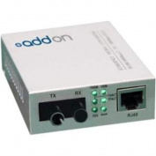 AddOn 1000Base-TX To 1000Base-BXD BiDi SMF Media Converter