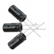 5 x 2200UF 16V 105C Radial Electrolytic Capacitor 10x20mm