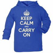 KCCO Baby Keep Calm And Carry On TODDLERS COTTON HOODIE