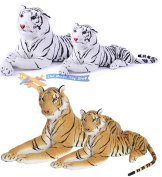 Large Giant Siberian Bengal Wild Tiger Soft Plush Stuffed Cuddly Toy up to 150cm