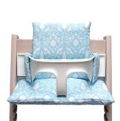 Blausberg Baby High Chair Cushion for Tripp Trapp - Oxford turquoise
