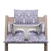 Blausberg Baby High Chair Cushion for Tripp Trapp - Oxford lilac