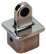 Sea Dog 270191-1 Square Internal Eye End for 3.2cm OD Tube