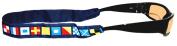 Nautical Sunglass Holder, Code Flag