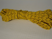0.8cm By 30m Gold Double Braided Polyester Halyard Line