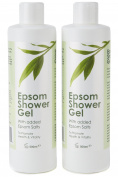 2 x Epsom Shower Gel - Free Next Day Delivery