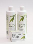Epsom Shampoo, Epsom Shower Gel & Epsom Soap Offer - Free Next Day Delivery