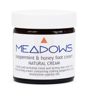 Peppermint & Honey Natural Foot Cream (Meadows Aroma) 500ml