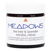 Tea Tree & Lavender Natural Cream (Meadows Aroma) 60ml