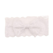 Oyedens New Fashion Girls Lace Big Bow Hair Band Baby Head Wrap Band Accessories