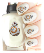 Easy to use, High Quality Nail Art Decal Stickers For Every Occasion Star Wars BB8