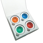 Hellohelio Coloured Filter Close-Up Lens for Instax Mini 7S ,Instax Mini 8/8+Cameras, Poloroid PIC 300, 4pcs in a suit
