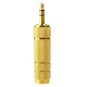 Bluelans® Gold Plated 3.5mm Stereo Socket to 6.5 1/4 Jack Headphone Adapter Converter Plug