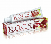 R.O.C.S. Teens Cola and Lemon - effective teeth and gums protection for 8-18 y.o. children