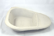 25 Disposable Cardboard Pulp 1.3L Slipper Bed Pan Liners Hospital Style