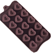 SHINA New Silicone Heart Love Shaped Cake Chocolate Deco Mould Baking Tools