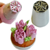 Spring Tulip Stainless Steel Icing Piping Nozzles