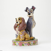 Enesco Disney Traditions Lady & the Tramp 60th Anniversary