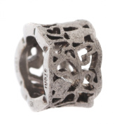 STORY by Kranz & Ziegler Women Charm 925 silver anthracite Ring engraved heart motif 6008182