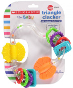 Scholastic Triangle Clacker - Orange/Multi - one size