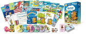 Malay for Kids Deluxe set, Malay Language Learning Dvds, Books, Posters and Flashcards for Children
