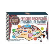 Global Gizmos 52470 Penguin Orchestra Electronic Fun Musical Instrument Play Mat