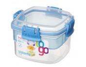 Sistema Snacks To Go Container 400 ml Assorted Colours