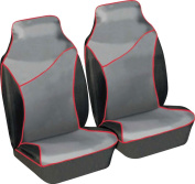 LAND ROVER DEFENDER 90 & 110 Heavy duty waterproof front seat cover protectors - New design