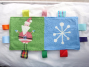 baby taggy security comfort blanket -xmas