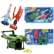 Thunderbirds 4 Vehicle Set With Sound Officially Licenced Toy