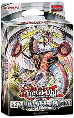 Konami - jccygo216 - Card Game - Cyber Dragon Revolution Structure Deck Yu-Gi-Oh - French Language.