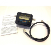 Satgear Satfinder Satellite Metre + Cable with Needle Display and Audible Tone, HD Ready + English Instructions