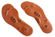 Health Foot Feet Care Insole Shoe Boot Thenar Pad Magnetic Therapy Massage Clean Woman