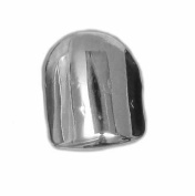 Single Grillz Iced out hiphop bling CHROME / SILVER Tooth Clip