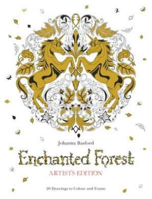 Enchanted Forest Artists Edition A Pull Out And Frame Colouring Book