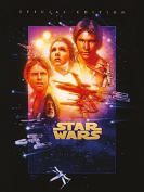"Star Wars 60 x 80 cm ""Episode IV - A New Hope"" Canvas Print"