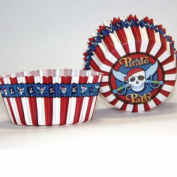 Finishes Touches Party Store Pack Of 50 Pirate Theme Cup Cake Cases