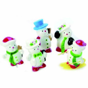 Anniversary House : Snowmen Cake Toppers