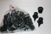 25 bag of 2.5cm small green plastic candle holders for oasis and flower arrangement