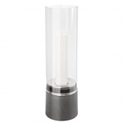 Blomus Piedra 65275 Storm Lantern with Candle