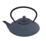 Bredemeijer Xilin G002B Asian Teapot Cast Iron 1.25 Litre Pimple Structure Blue