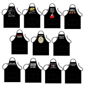 ICONIC APRONS MENS NOVELTY APRON,BEAR GRILLS FRONT PRINT, COOKING APRON,BAKEWARE APRON,BBQ APRON