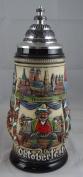 German Beer Stein Oktoberfest Munich bavaria Stein 0.5 litre tankard, beer mug ZO 1756/906