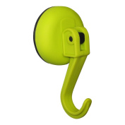 Tatkraft Kalev Easy Montage Yellow Suction Cup Hook Chrome Plated